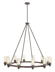 Kichler Lighting Circolo™ 41 in. 60W 12-Light Medium E-26 Ceiling Mount Chandelier KK2347