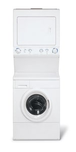 Frigidaire 3.1 cf Washer Dryer Combination in White FGLH1642FS