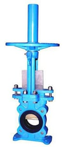 FNW 316L Stainless Steel Rubber Lug Knife Gate Valve FNW60R
