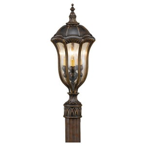 Murray Feiss Industries Baton Rouge 22 in. 60W Wall Mount Candelabra Lantern MOL6007