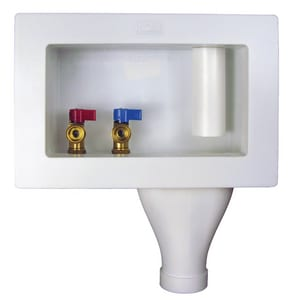 Water Tite CPVC Wide Mouth Washing Machine Outlet Box I87355
