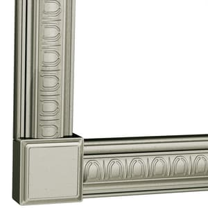 Moen 3-1/4 in. x 6 ft. Decorative Frame Straight CSIMS3072