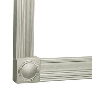 Moen 2-3/4 in. x 6 ft. Decorative Frame Straight CSIMS4072