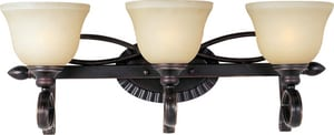 Maxim Lighting International Infinity 9 in. 100 W 3-Light Steel Medium Bracket in Oil Rubbed Bronze M21313WSOI