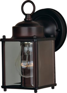 Maxim Lighting International Side Door 8 in. 60W 1-Light Medium E-26 Base Extension Sconce M6879CL