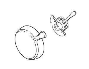 Delta Faucet Lahara™ Single Lever Handle Kit DRP51307