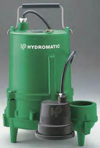 Hydromatic Pump 120 gpm 115V Sewage Pump HSP40A11001