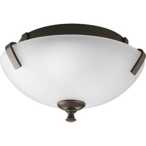 Progress Lighting Wisten 100W 2-Light 120V Semi-flush Mount Ceiling Fixture PP3290