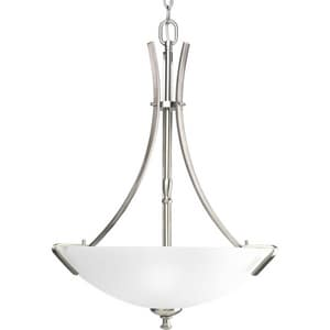 Progress Lighting Wisten 3 Light 300W Pendant Brushed Nickel PP375709