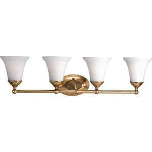 Progress Lighting Milia 8-1/8 in. 100W 4-Light Bath Vanity Fixture PP2782