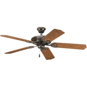 Progress Lighting AirPro 52 in. 5-Blade Outdoor Ceiling Fan PP2502