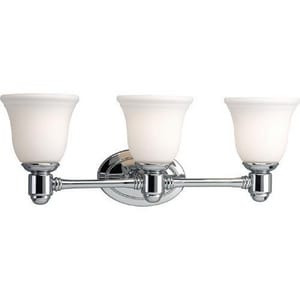 Progress Lighting Chadford 8-5/8 in. 100W 3-Light Bath Vanity Fixture PP3345