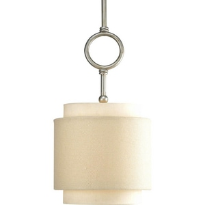 Progress Lighting Ashbury 1-Light Mini Pendant with Fabricated Shade PP5054134