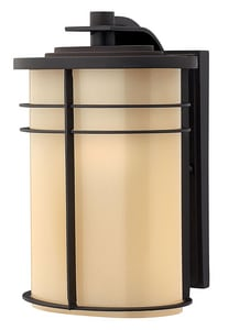 Hinkley Lighting Ledgewood 12 in. 75W Wall Mount Medium Lantern H1124