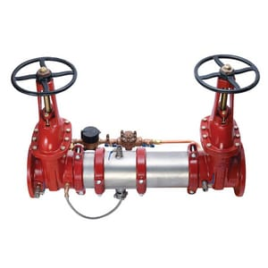 Ames Fire & Waterworks C500 C500 Reduced Pressure Backflow Preventer with Outside Stem and Yoke Gate Valve AC500OSYG