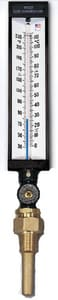 Weksler Instruments 0-120 Degree F Straight Thermometer Only WAS5H916E