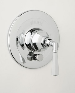 Rohl Palladian Pressure Balancing Trim with Diverter with Single Lever Handle RA2900LM