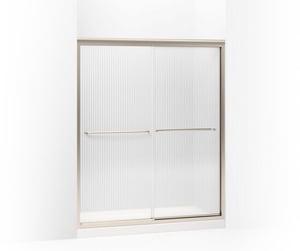 Kohler Fluence® 70-5/16 x 59-5/8 in. Frameless Sliding Shower Door K702206-G54
