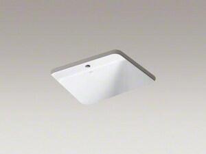 Kohler Glen Falls™ 25 x 22 in. Single Hole Undercounter Laundry Sink K6663-1U