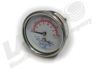 Laars 230 psi Temperature Pressure Gauge LRA0079000