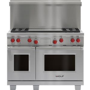 Wolf Range 20 in. Riser for Dual Fuel Range in Stainless Steel W804388