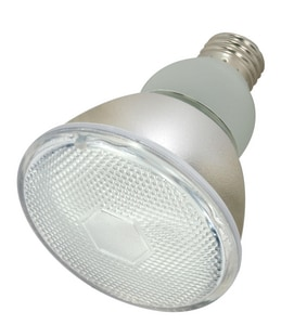 Satco 15W PAR30 Short Neck Compact Fluorescent Light Bulb with Medium Base SS7204