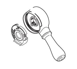 Delta Faucet Leland® Single Handle Lever Kit with Volume DRP51425