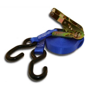 Tiegrrr Straps Heavy Duty Ratchet with S-Hook & D-Ring TTS12RHS
