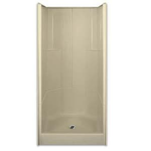 Aquarius Industries Luxury 36 x 36 in. Three Piece Shower in White AG3679SH3PWH