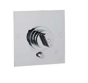 Mirabelle® Winter Haven® Non-Thermostatic Valve Trim with Integral Volume Control and Diverter MIRWH34710