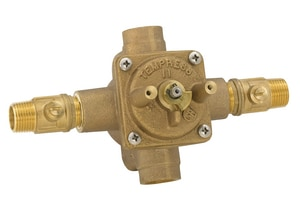 Mirabelle® 1/2 in. 8 gpm Pressure Balancing Mix Valve (Less Diverter) MIR289705999