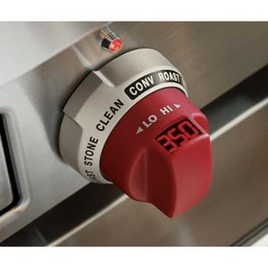 Wolf Range Knobs for 48/60 in. Dual Fuel Range in Red W804370