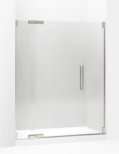 Kohler Purist® 59-3/4 in. Frameless Pivot Shower Door for Kohler K-705764 Shower Door Assembly Kit K705705-L