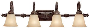 Capital Lighting Fixture Barclay 100 W 4-Light Vanity C1524CB287