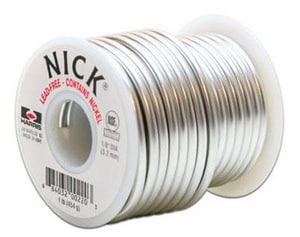 JW Harris Nick® 1 lb. Solder in Nickel HNICK61