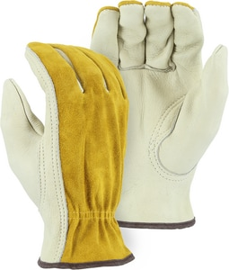 Majestic Glove Grain Leather Palm Drive Glove M1533B