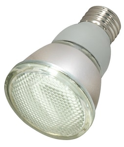Satco 11W PAR20 Fluorescent Light Bulb with Medium Base SS7207
