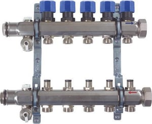 Viega 2-Outlet Stainless Steel Manifold V15700