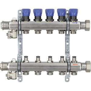 Viega North America 5-Outlet Stainless Steel Manifold V15703