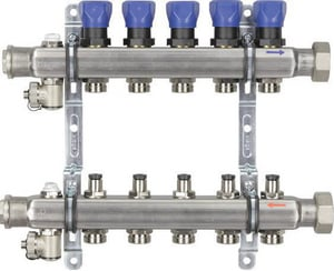 Viega North America 6-Outlet Stainless Steel Manifold V15704