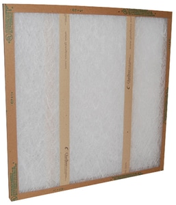 Glasfloss Industries 25 x 25 x 1 in. Fiberglass Air Filter GGDS25251