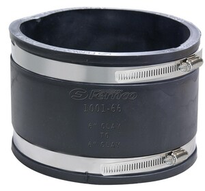 Fernco Clay Flexible Coupling F1001WC