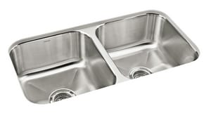 Sterling Plumbing Group Carthage™ 18 ga 2-Bowl Undermount Kitchen Sink S11445NA