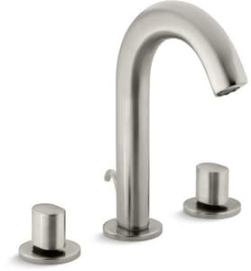 Kohler Oblo® 3-Hole Deckmount Widespread Lavatory Faucet with Double Knob Handle K10086-9