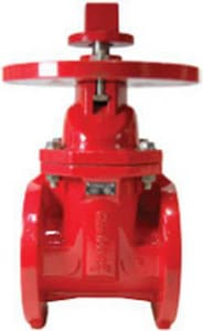Unique Fittings and Flanges 200 psi Cast Iron Flanged Outside Stem & Yoke Gate Valve UUFP00