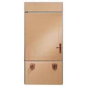 General Electric Appliances Monogram® 20.6 CF 36 in. Built-In Bottom-Freezer Refrigerator GZIC360NXLH