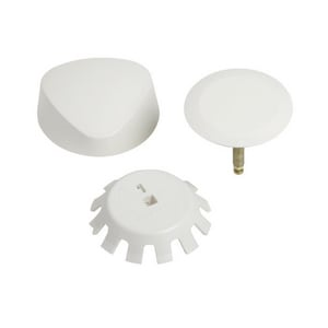 Geberit TurnControl™ Bath Waste and Overflow System Trim Kit, Molded Plastic G151550