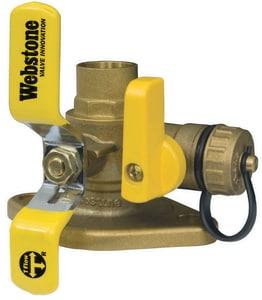 Webstone Company Isolator® Sweat Brass Full Port Ball Valve W5141