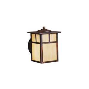 Kichler Lighting Alameda 75W 1-Light Medium Base Wall Lantern in Canyon View KK9649CV