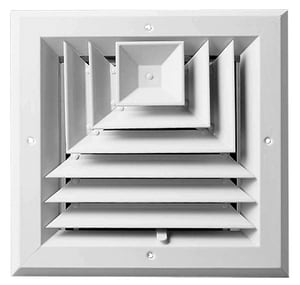 Aluminum Ceiling Diffuser PSAWUU